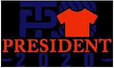 President 2020 shirts