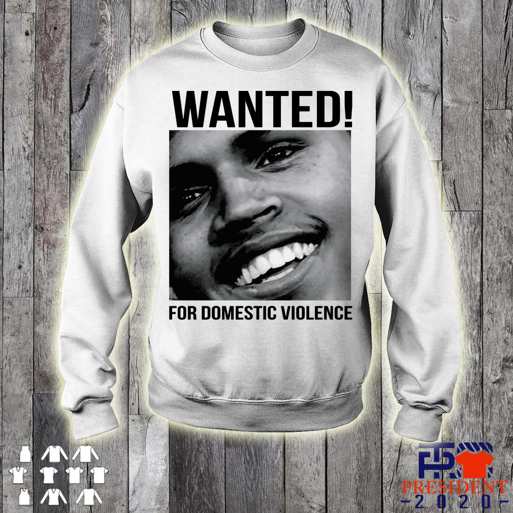 Chris Brown Wanted For Domestic Violence Sweater