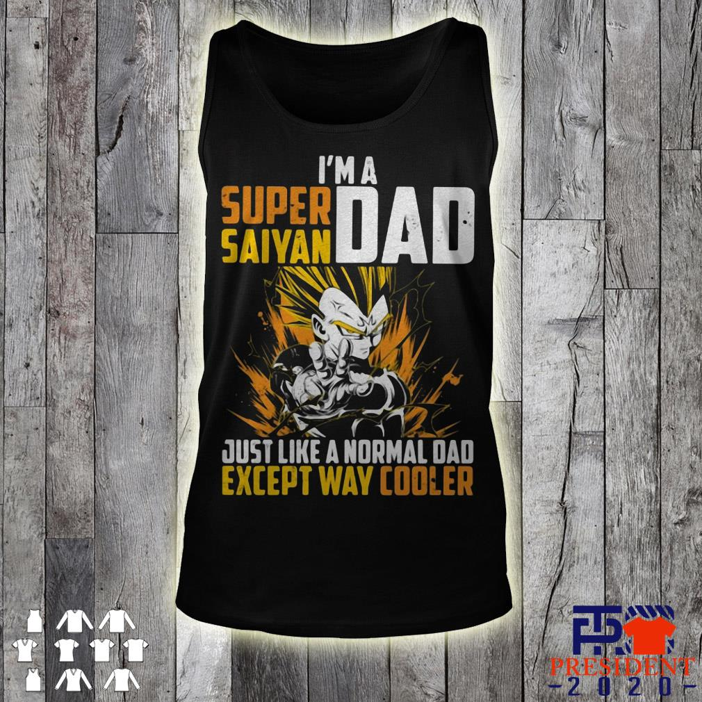 511a6e911 Father's I'm A Super Saiyan Dad Just Like A Normal Dad Except Way Cooler