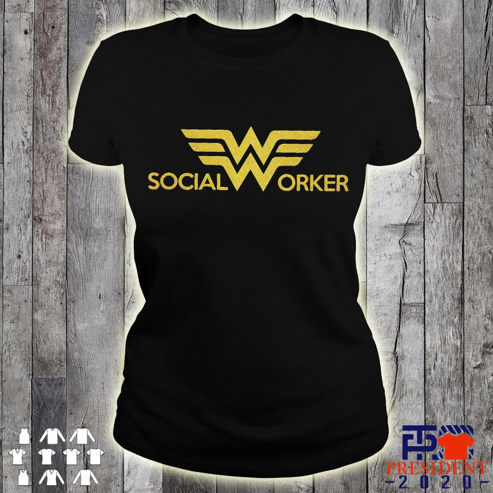Social Worker ladies tee
