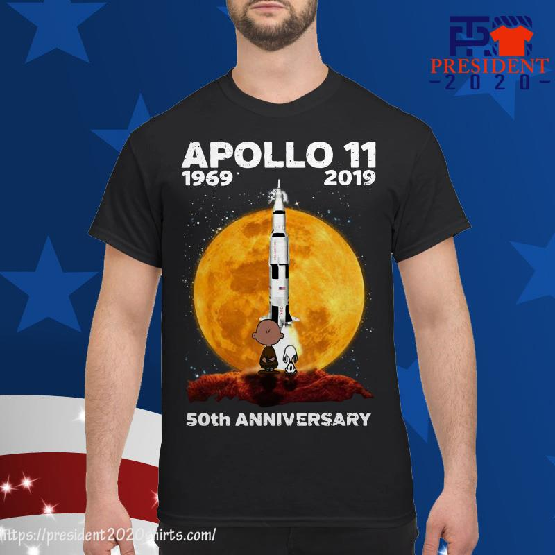 c5767a85 Charlie Brown And Snoopy Apollo 11 50th Anniversary Shirt, hoodie ...