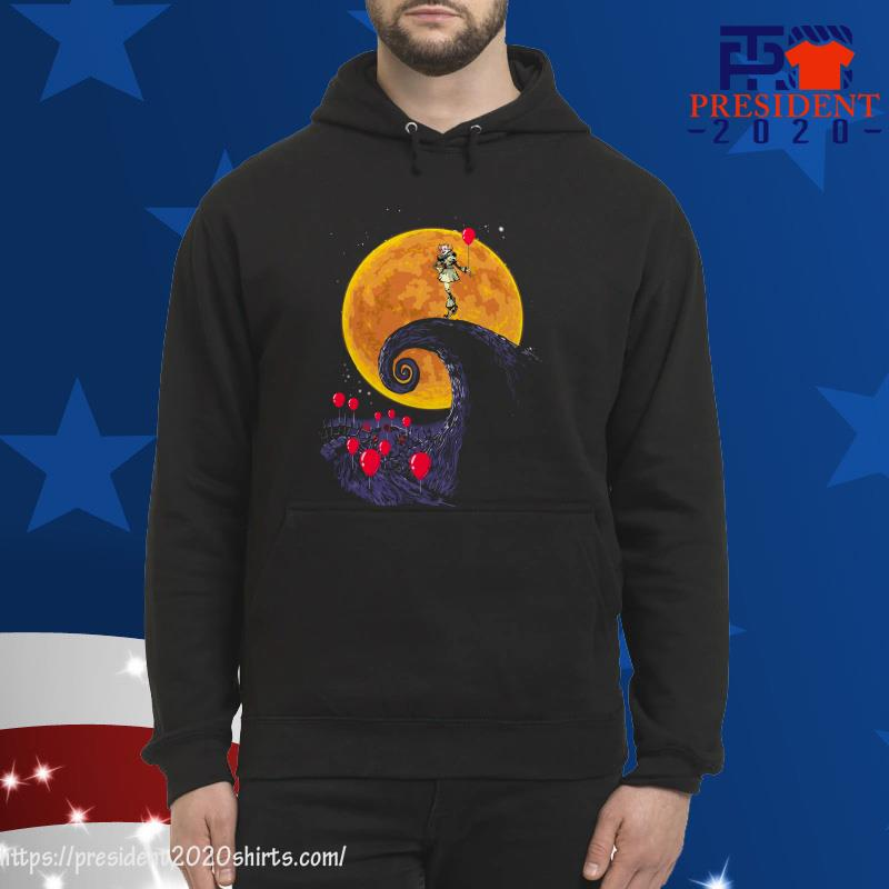 Halloween IT Pennywise style The Lion King hoodie