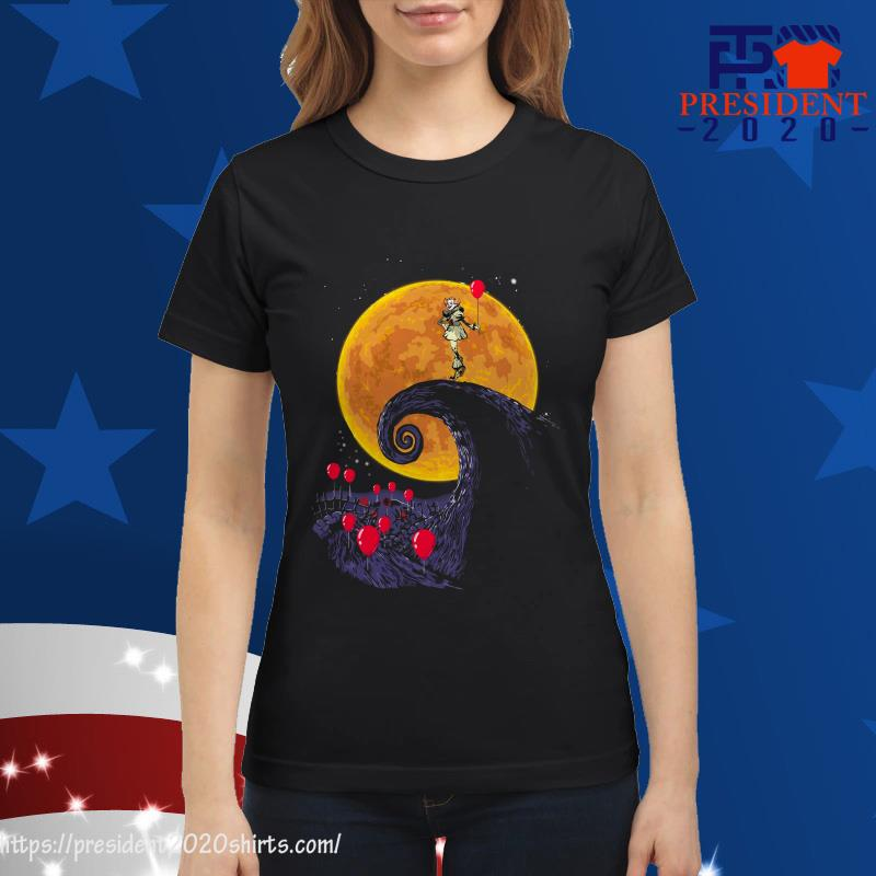 Halloween IT Pennywise style The Lion King ladies tee