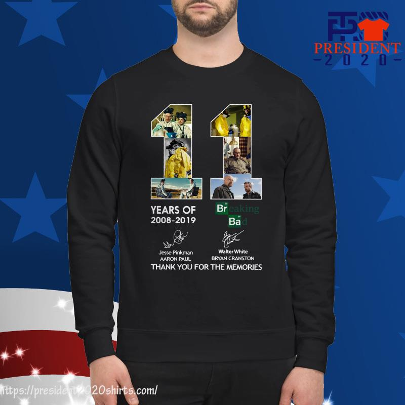 11 Years of Breaking Bad thank you for the memories sweater
