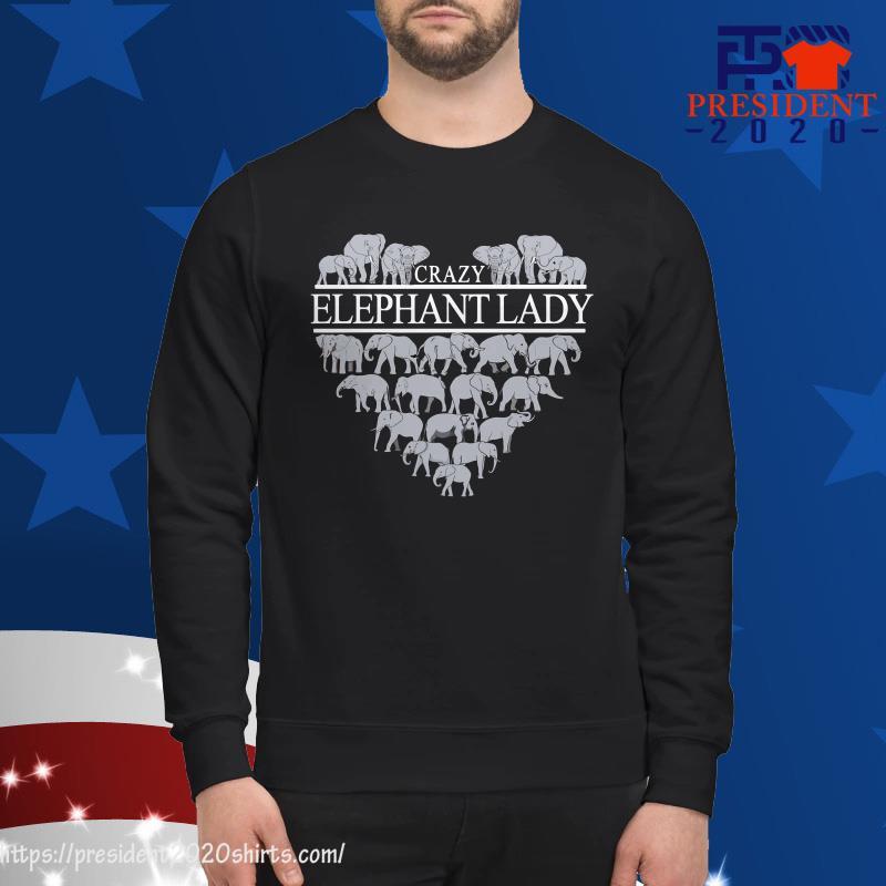 Crazy Elephant Lady sweater