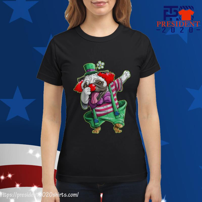 Official Pug Patrick Dabbing ladies tee
