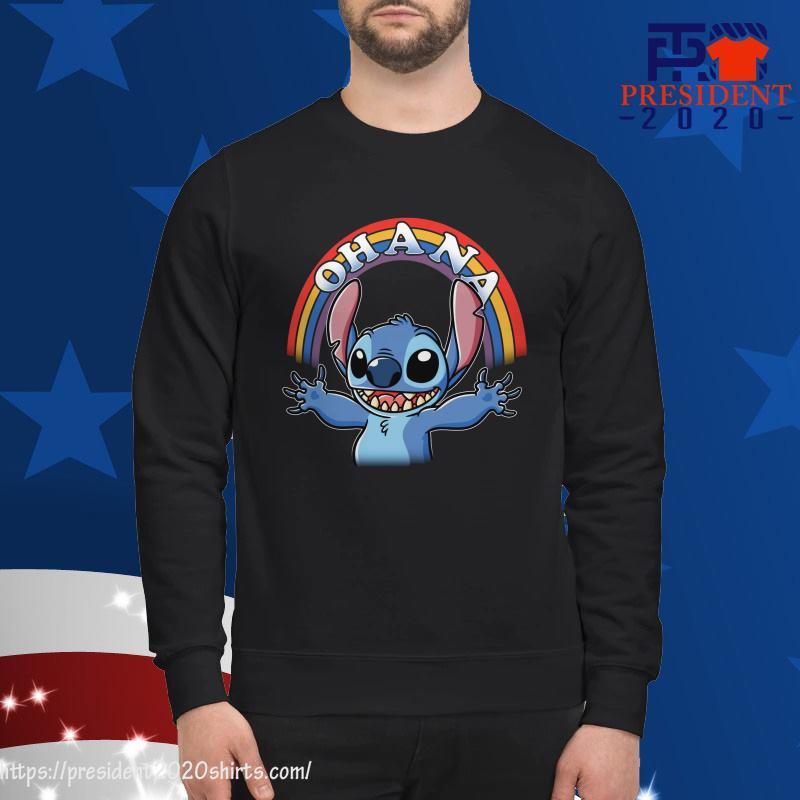Stitch Rainbow Ohana sweater