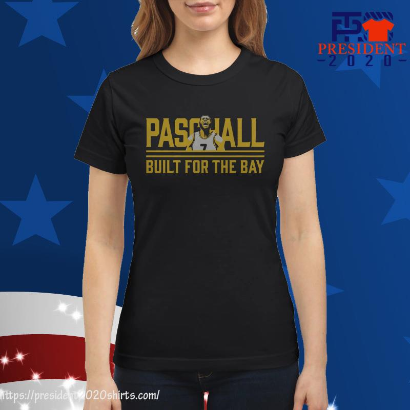 Eric Paschall Built For The Bay ladies tee