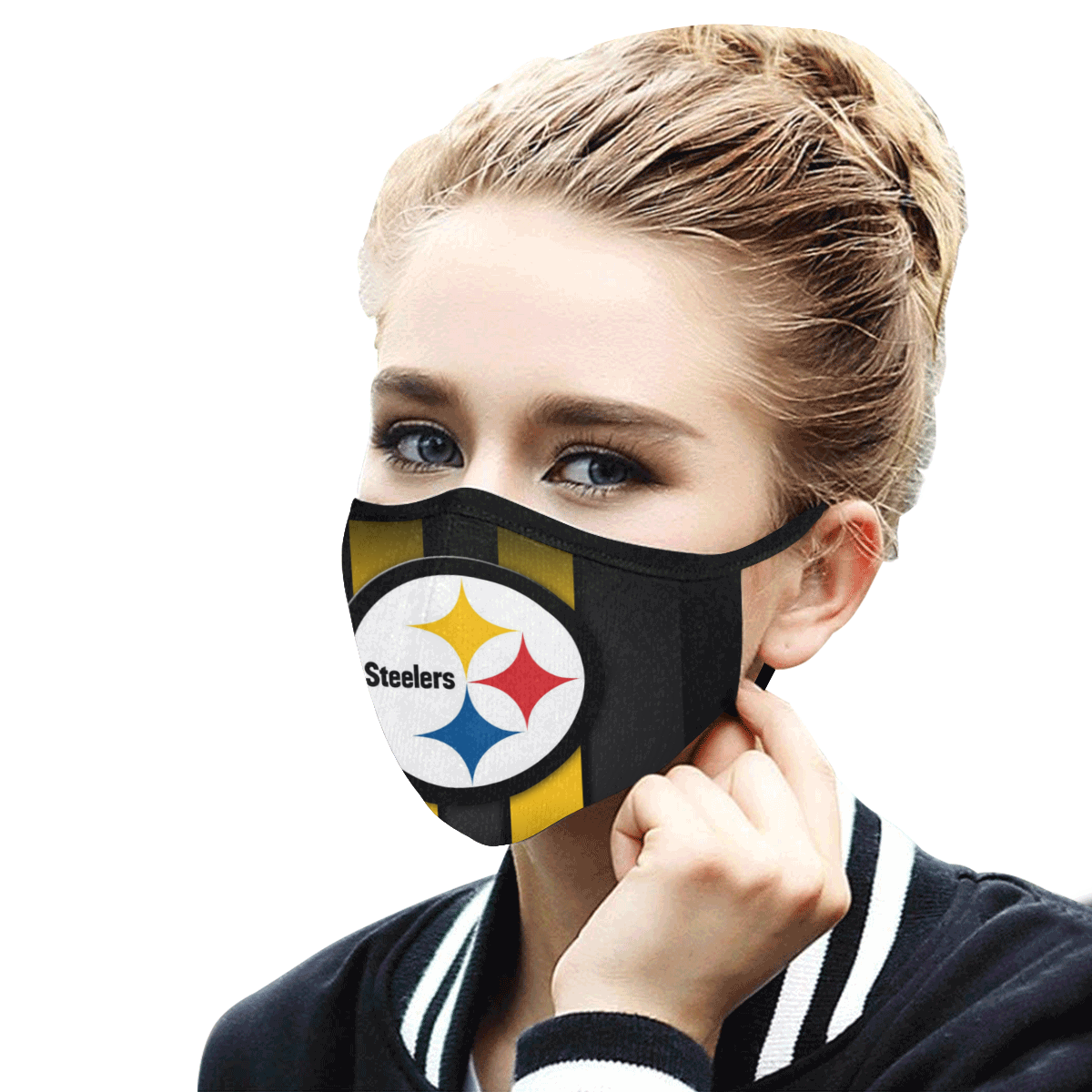 Pittsburgh Steelers Face Mask - Adults Mask PM2.5
