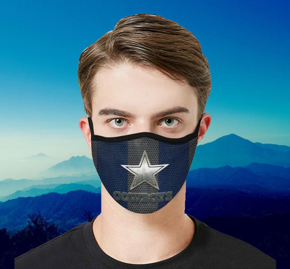 Dallas Cowboys 2020 Mask Filter - Face Mask Filter MP 2.5 ...