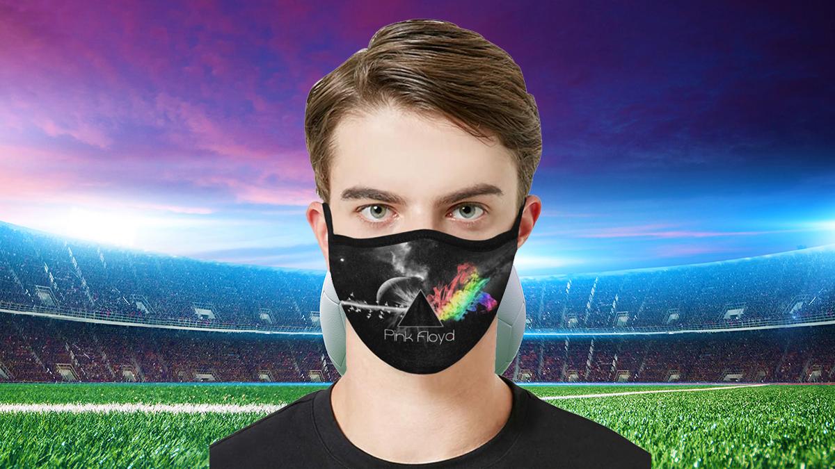 Pink Floyd Face Mask PM2.5 - Filter PM2.5 For Men's Face Mask & Women's Face Mask
