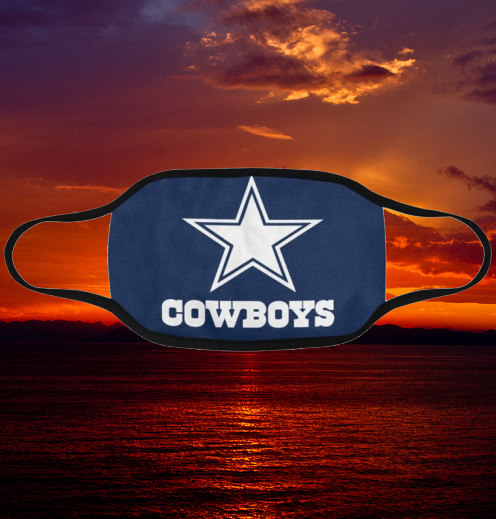 Us Dallas Cowboys Face Mask Filter Pm2 5 President 2020
