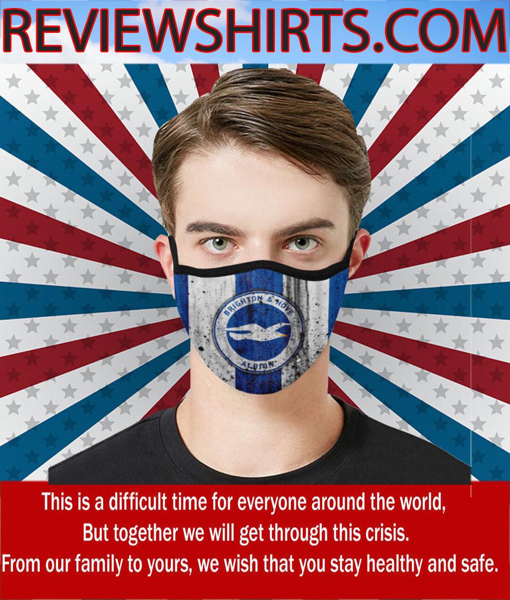 Brighton & Hove Albion FootBrighton & Hove Albion Football Club Cloth Face Maskball Club Cloth Face Mask