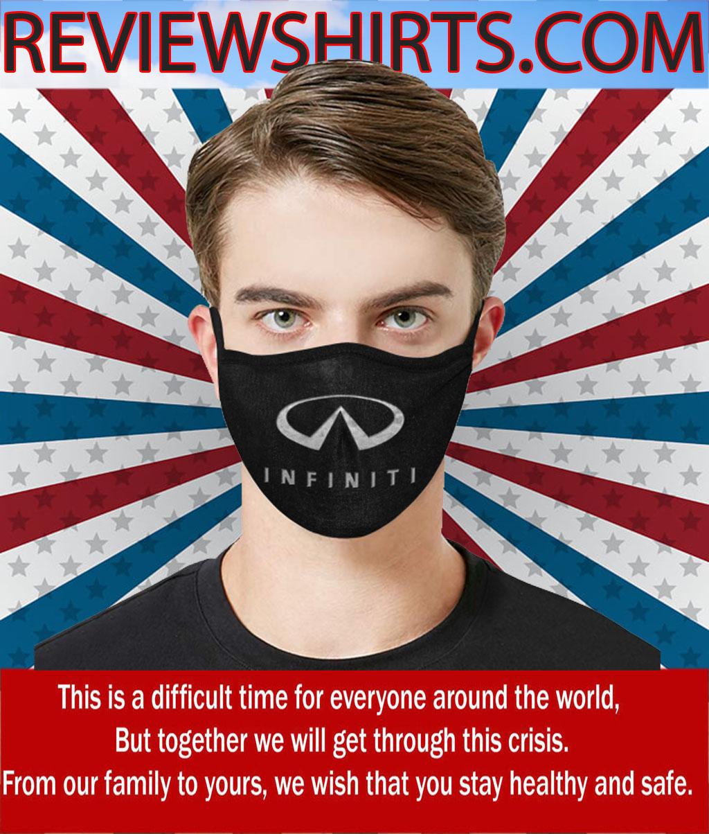 Infiniti Logo Face Mask - Infiniti Car Symbol #FaceMask 2020
