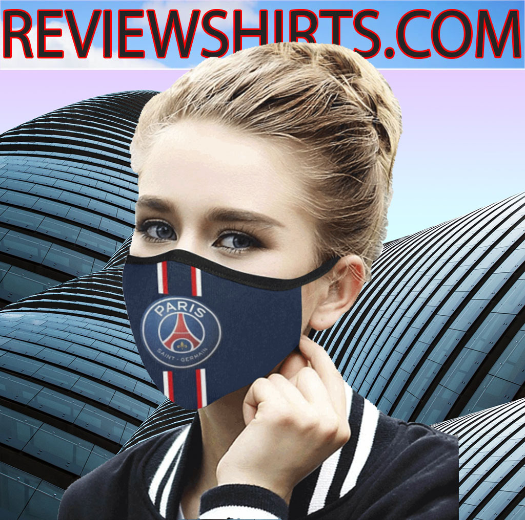 Paris Saint Germain F C Face Masks Logo Psg 2020 Masks President 2020 Shirts
