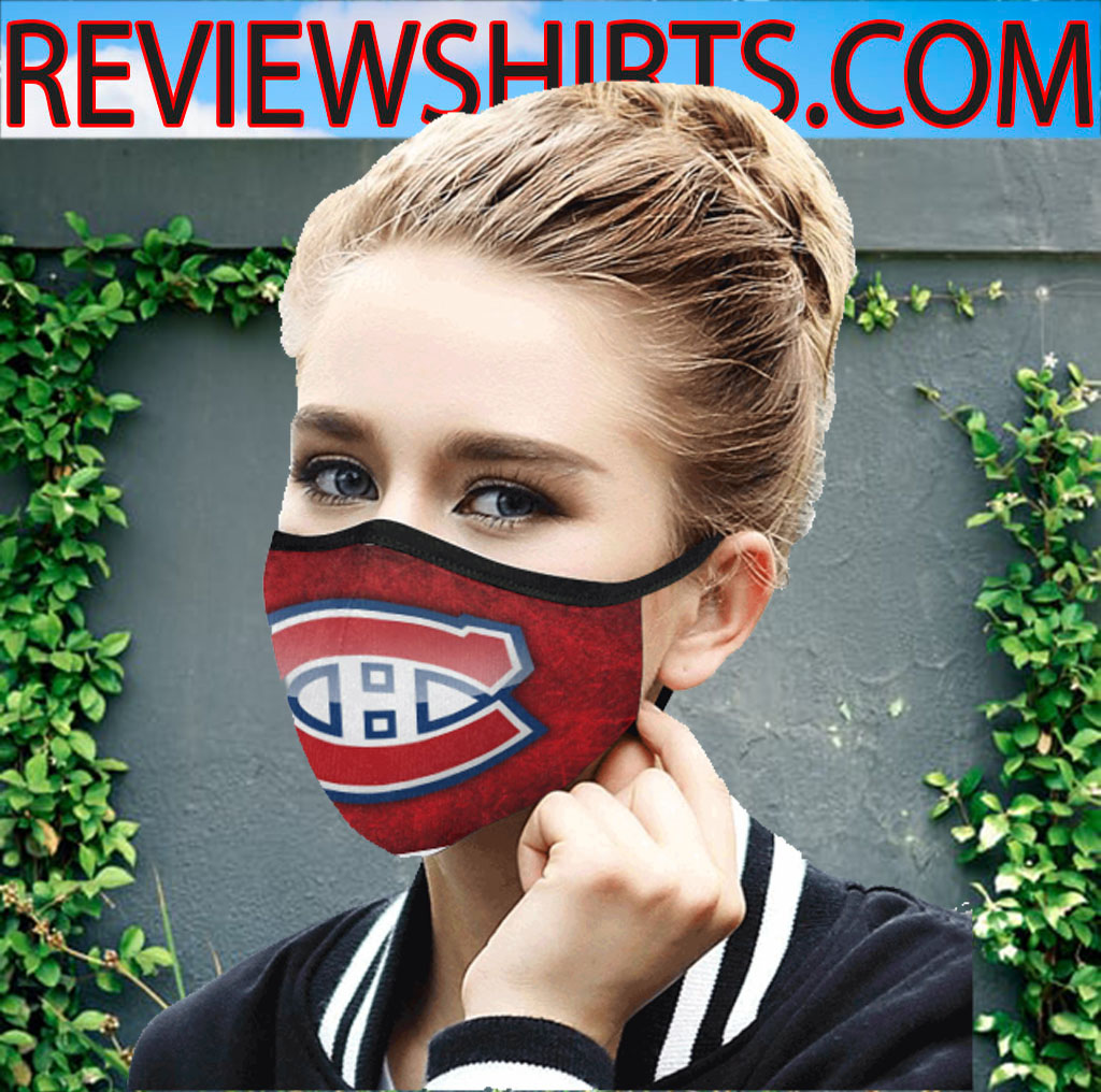 Logo Montreal Canadiens Cloth Face Mask
