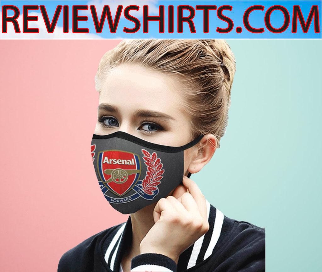 125 Years Anniversary Arsenal Logo Face Mask