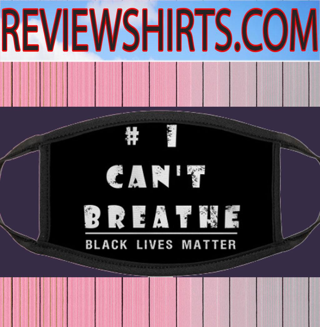 #ICan'tBreathe - Black Lives Matter Face Masks