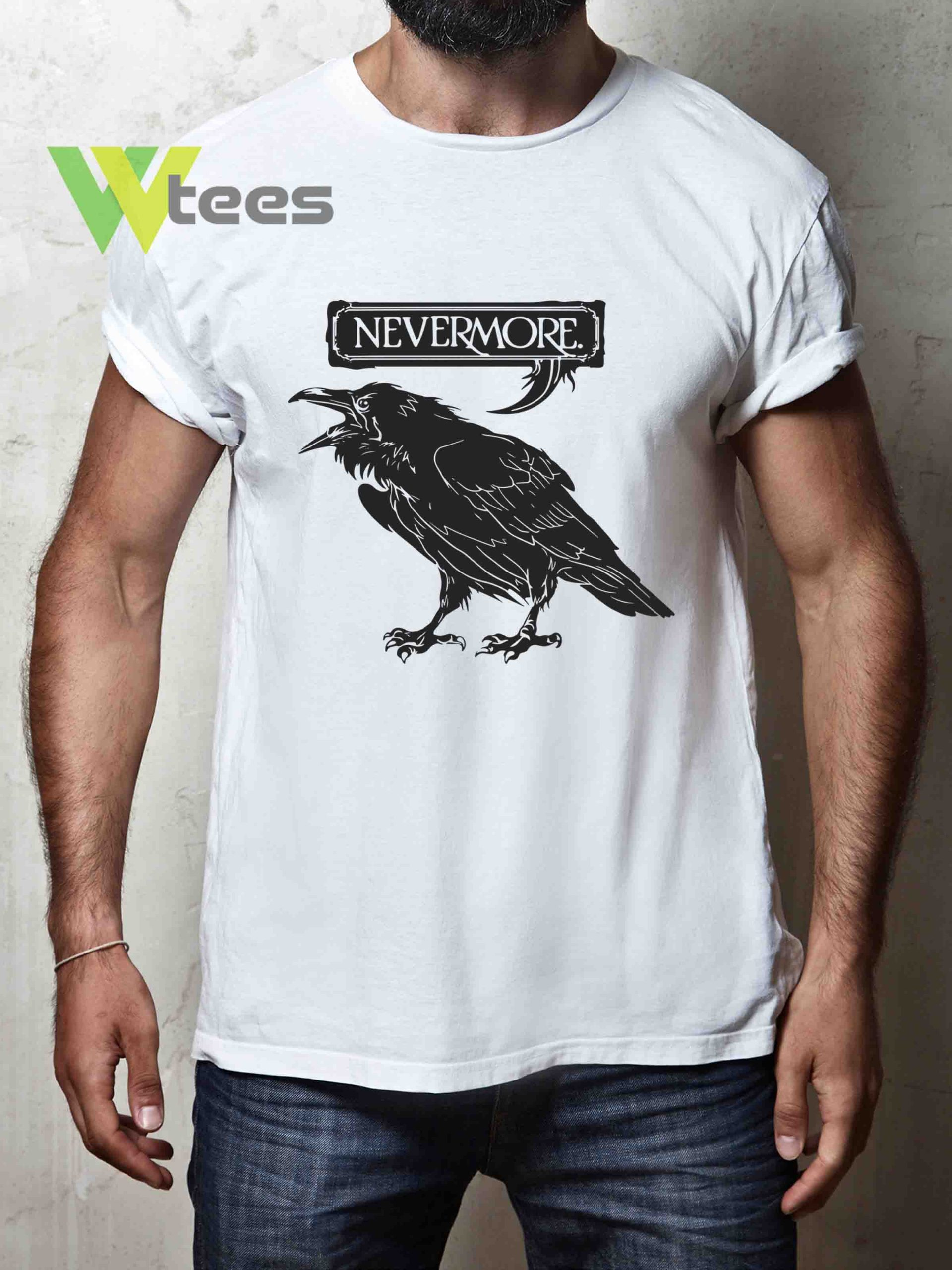 nevermore-gothic-raven-in-an-ornate-victorian-frame-T-shirt
