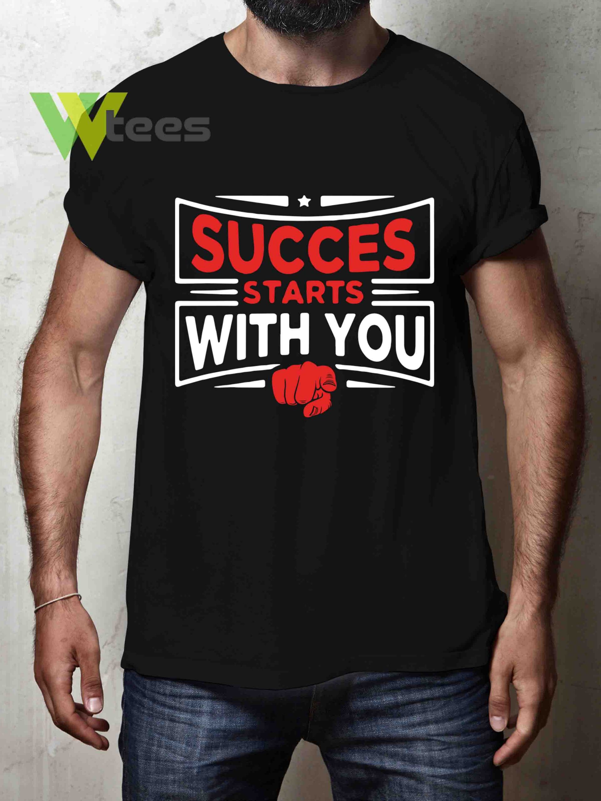 success-starts-with-you-T-shirt