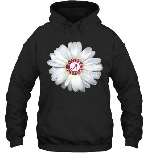 Alabama Crimson Tide Daisy Flower T-Shirt Unisex Hoodie