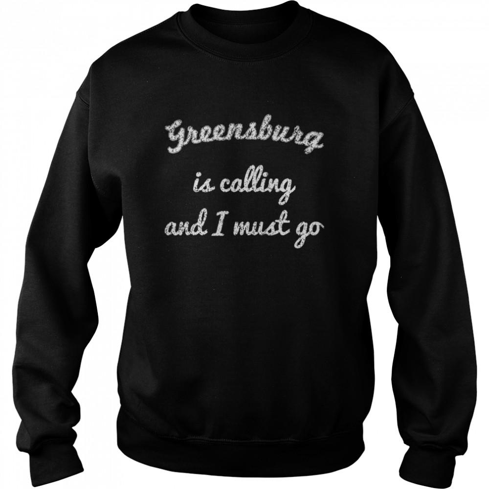 GREENSBURG PA PENNSYLVANIA Funny City Trip Home USA Gift  Unisex Sweatshirt