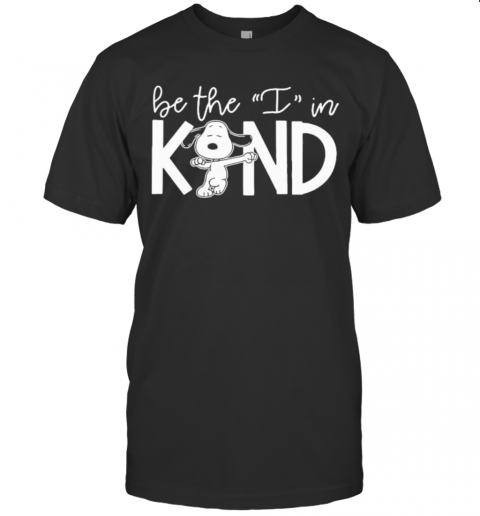 Snoopy Be The I In Kind T-Shirt Classic Men's T-shirt