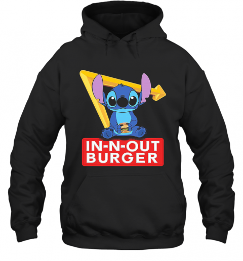 Stitch In N Out Burger T-Shirt Unisex Hoodie