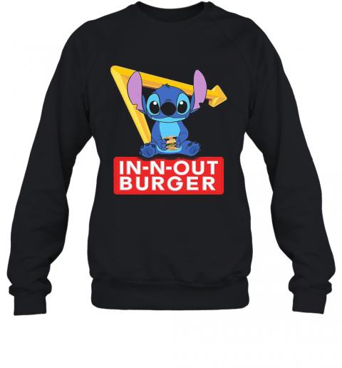 Stitch In N Out Burger T-Shirt Unisex Sweatshirt