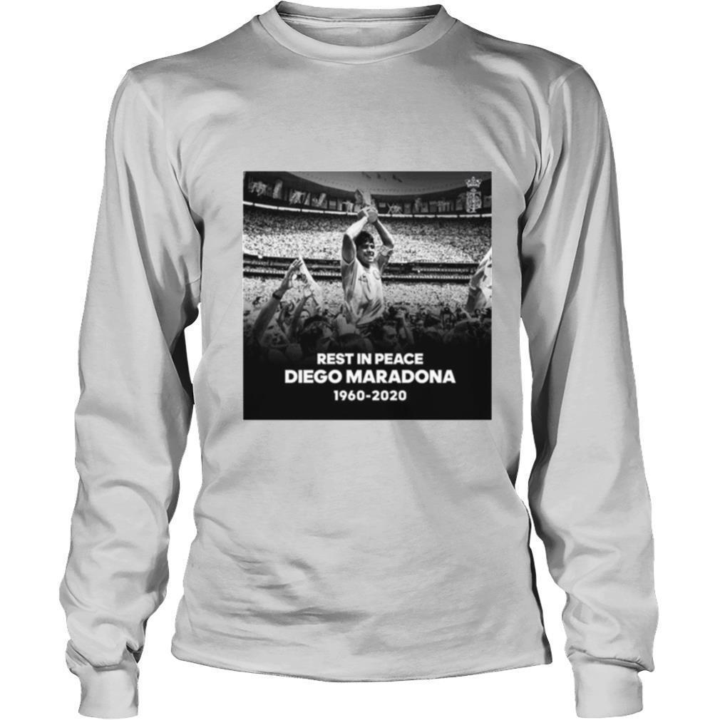 Rest In Peace Diego Maradona 1960 2020 T Shirt