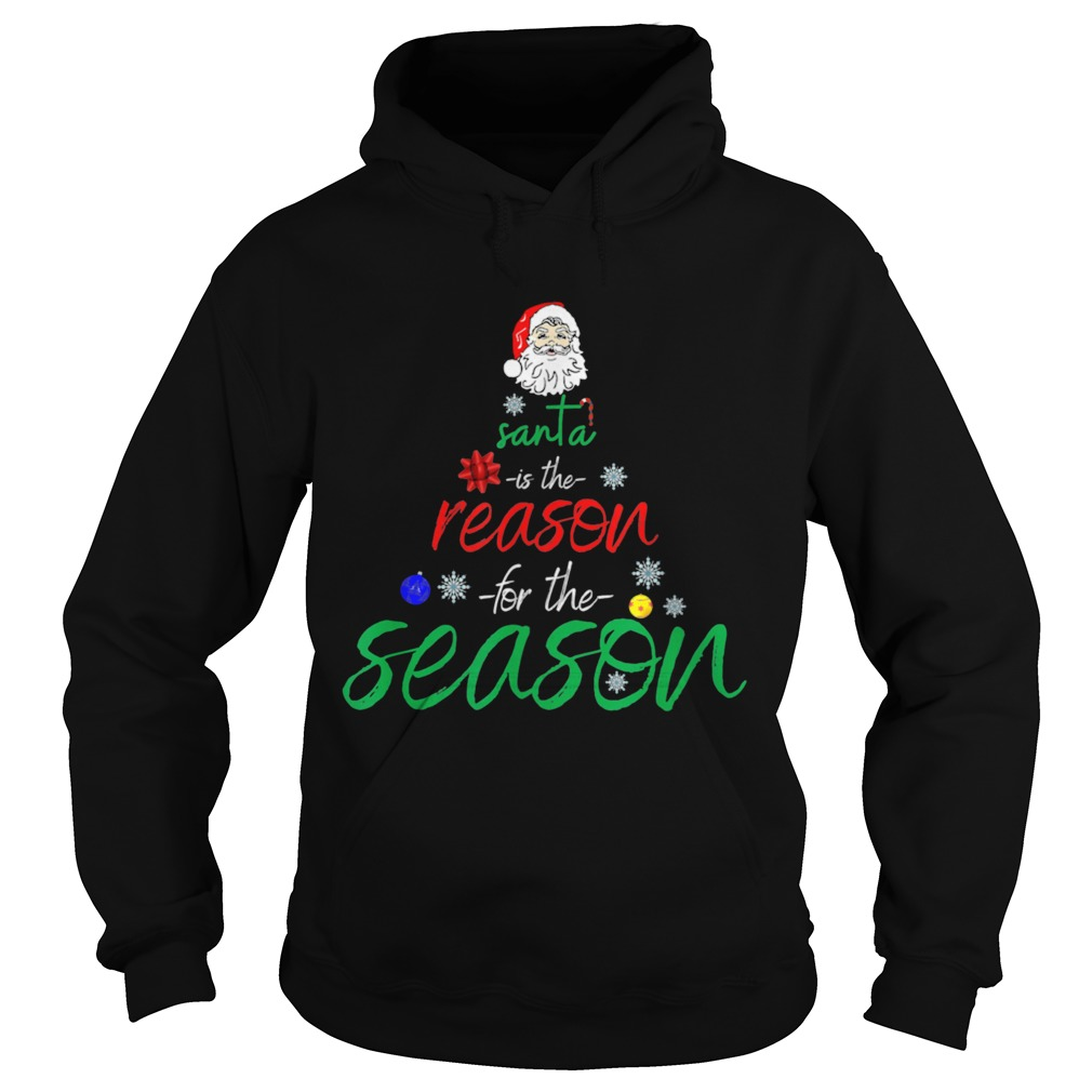 Santa is the reason for the season fun  Hoodie