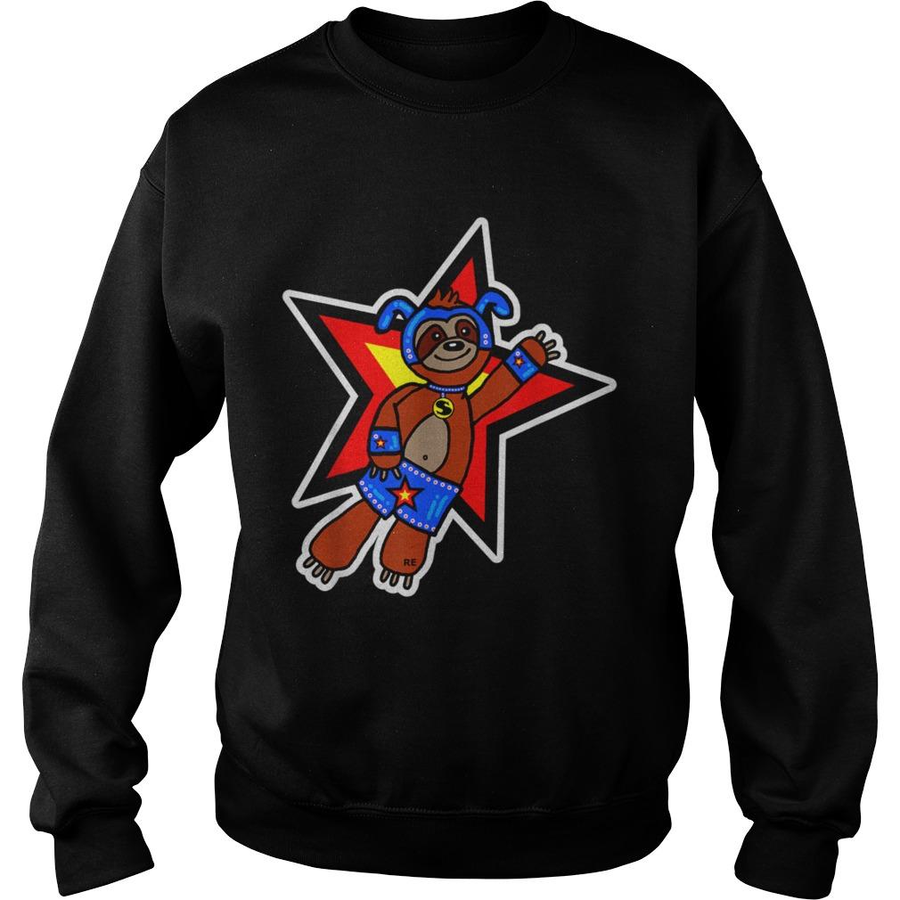 Sloth Superhero  Sweatshirt