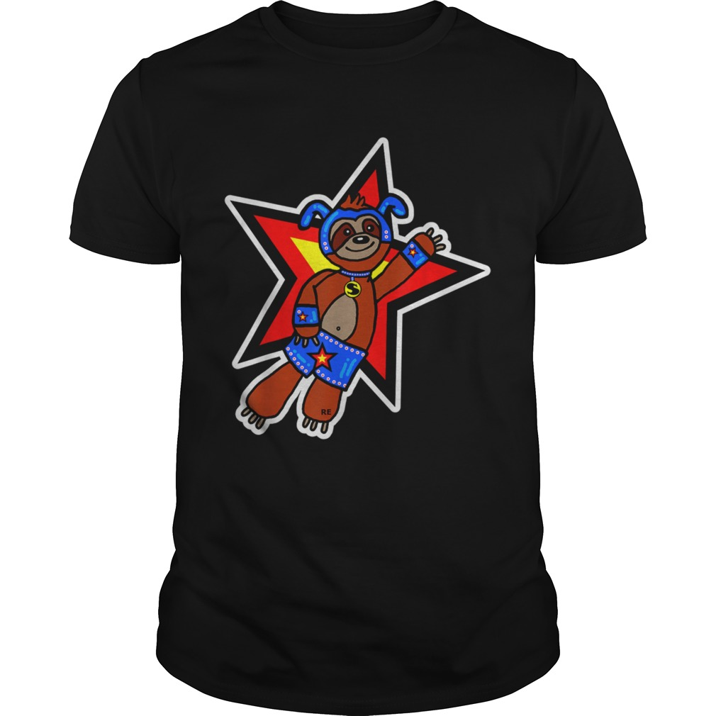 Sloth Superhero  Unisex