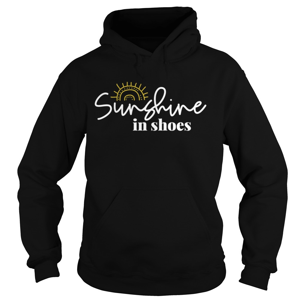 Sunshine In Shoes Happy Sunny  Hoodie