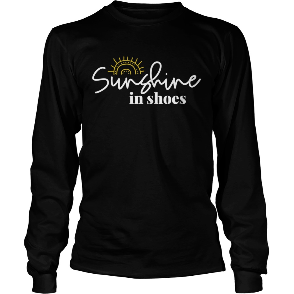 Sunshine In Shoes Happy Sunny  Long Sleeve
