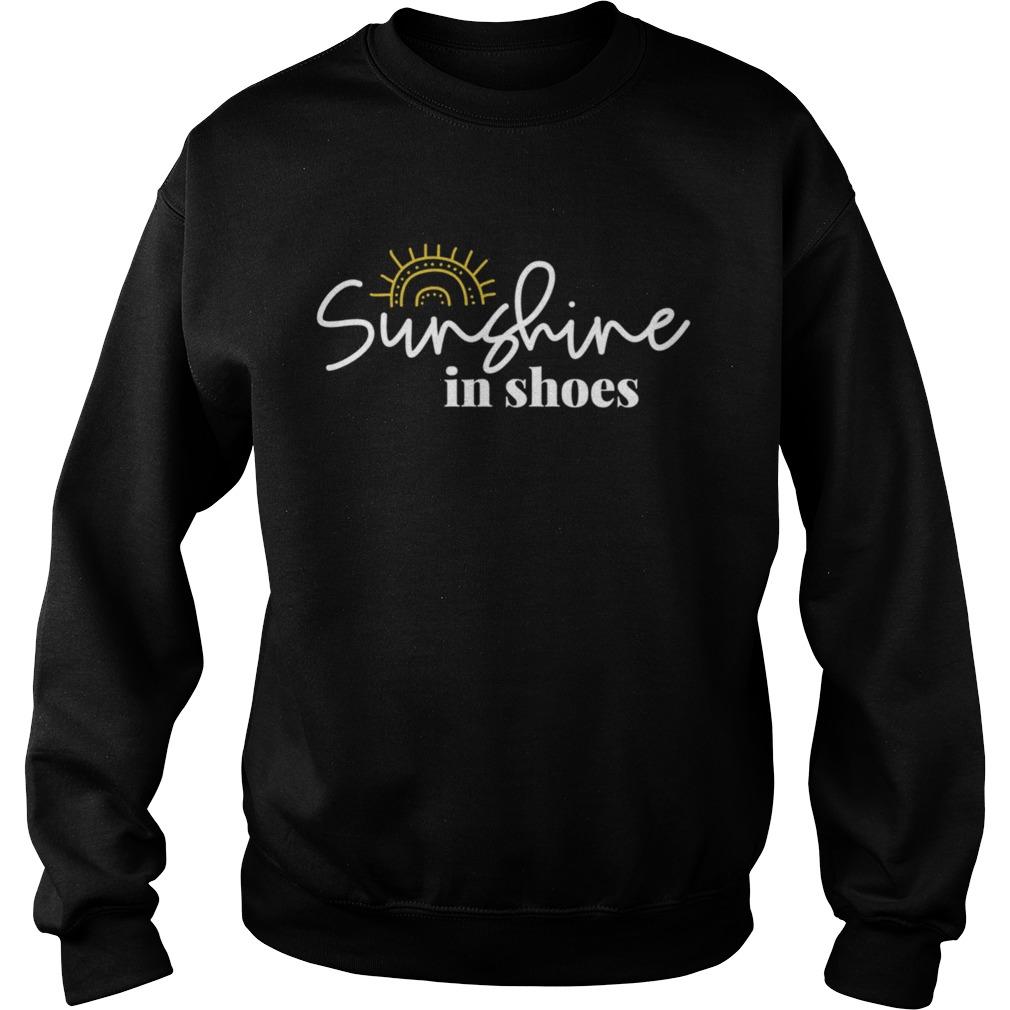 Sunshine In Shoes Happy Sunny  Sweatshirt