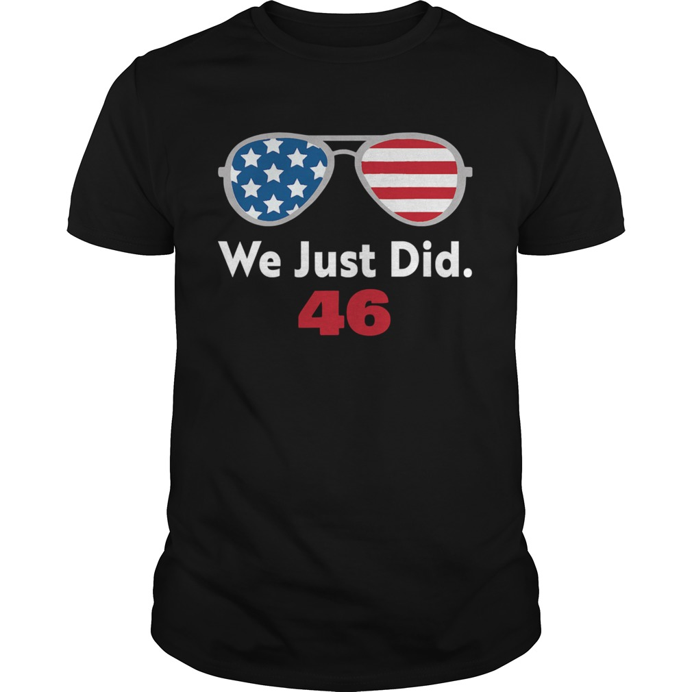 We just did 46 aviator sunglasses american flag  Unisex