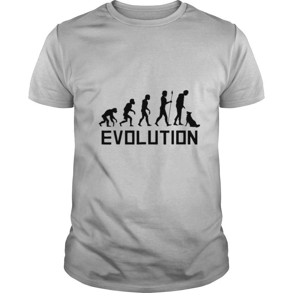 Dog Trainer Evolution Funny Dog Training shirt