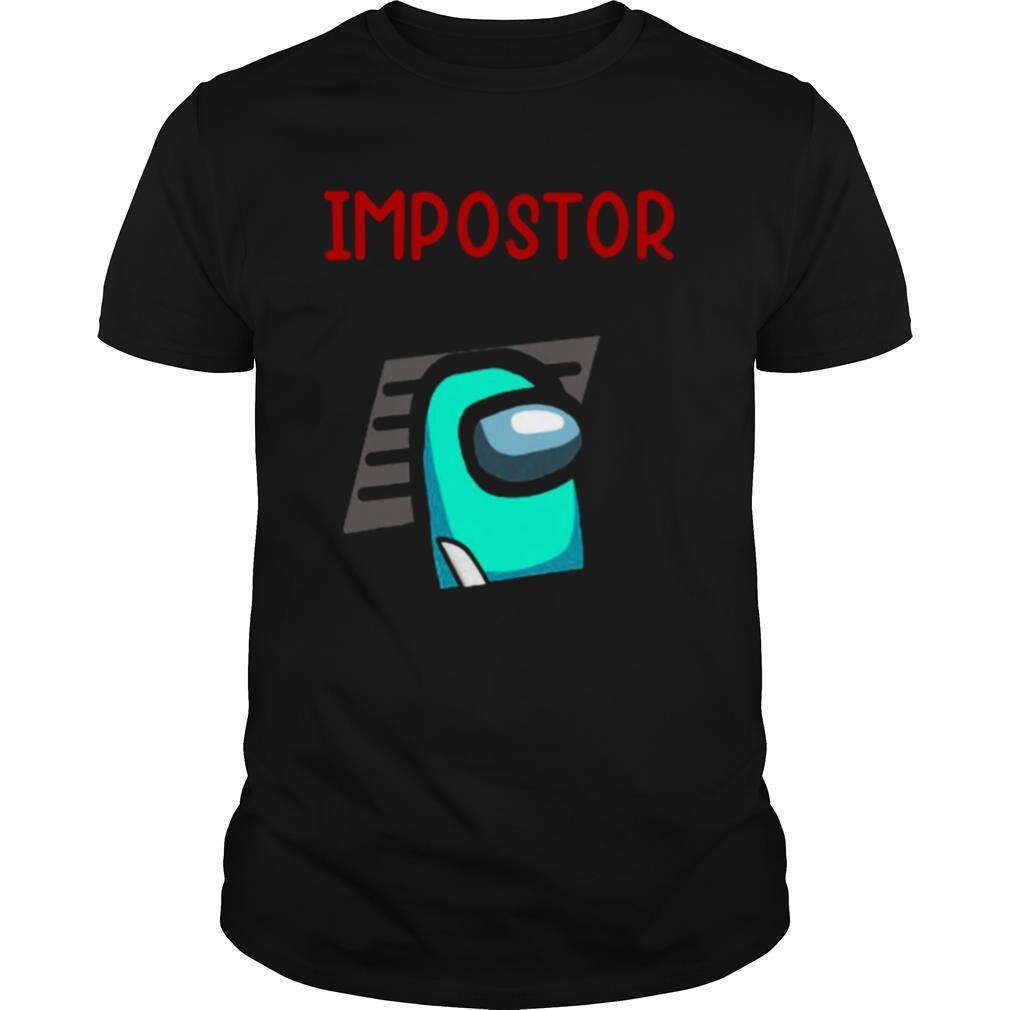 Impostor Among Game Us Idk Bro You Kinda Sus shirt