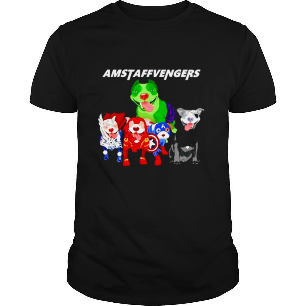 The Marvel Avengers Amstaffvengers shirt