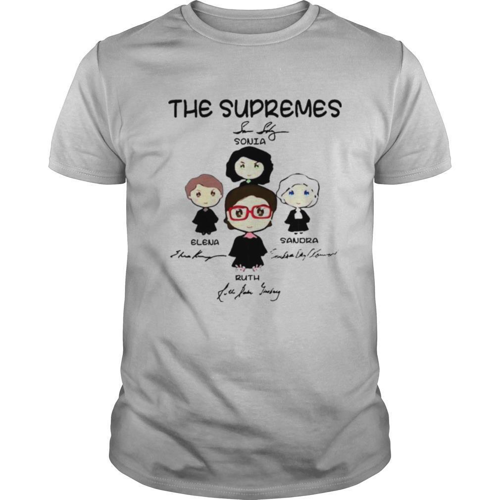 The Supremes Signatures shirts