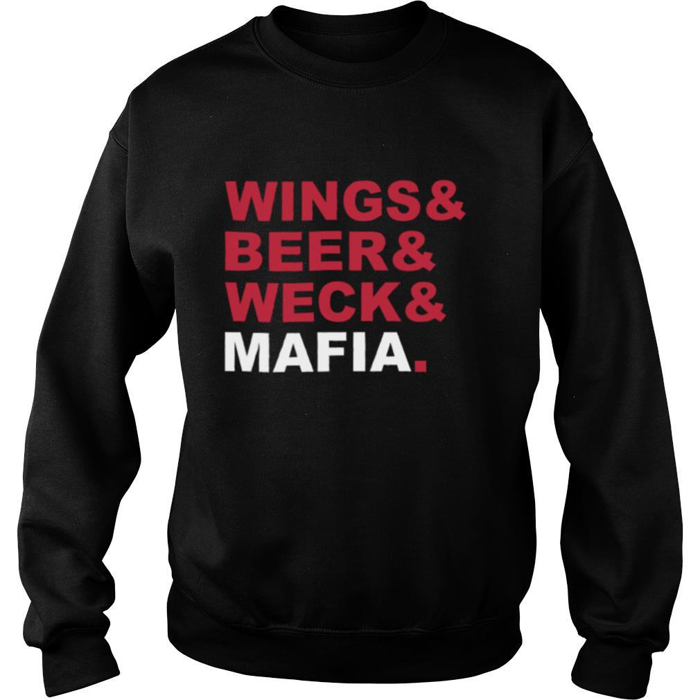 Wings And Beer And Weck And Mafia shirt