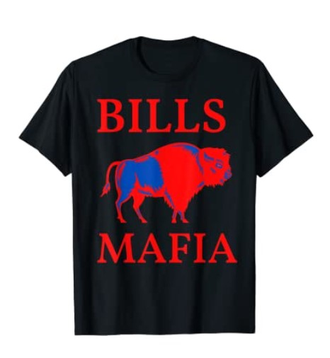 Bills Mafia 716 Buffalo New York BFLO WNY Sports Tee Shirt