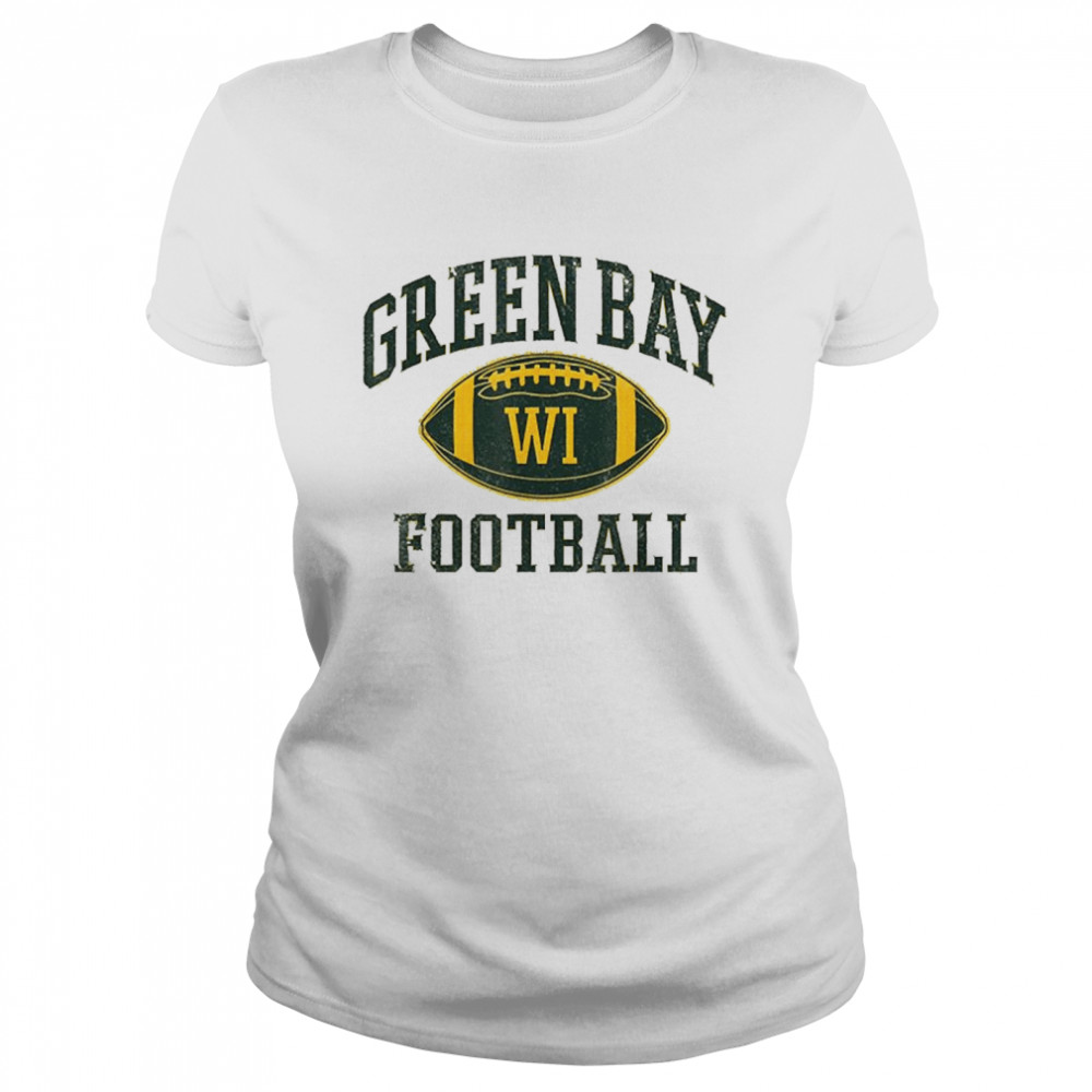 Green Bay Football Wisconsin  Classic Women's T-shirt