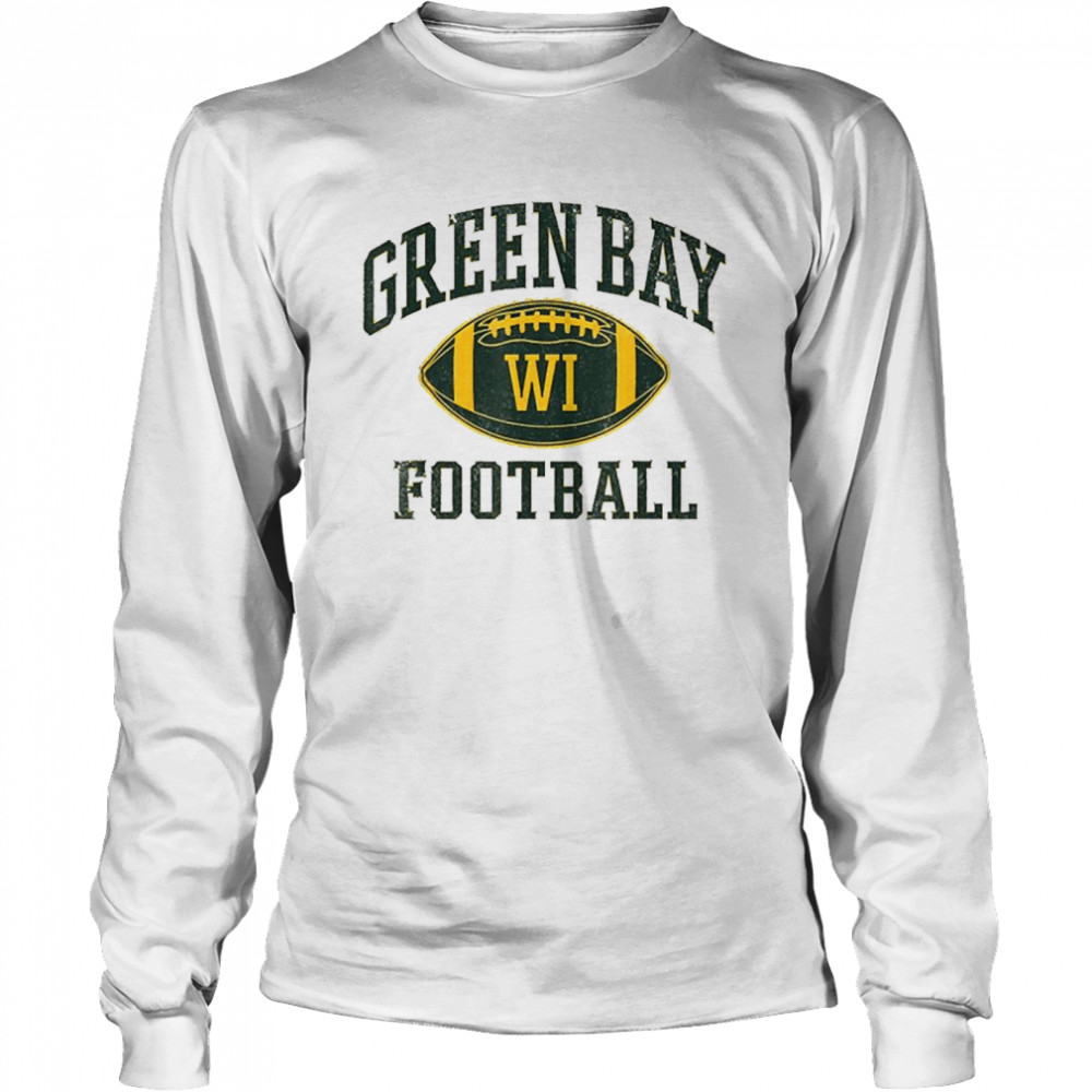 Green Bay Football Wisconsin  Long Sleeved T-shirt