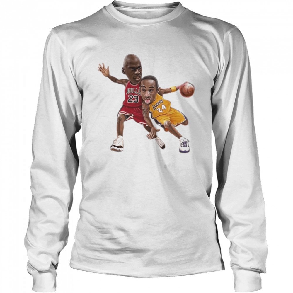 Lebra James and Kobe Bryant  Long Sleeved T-shirt