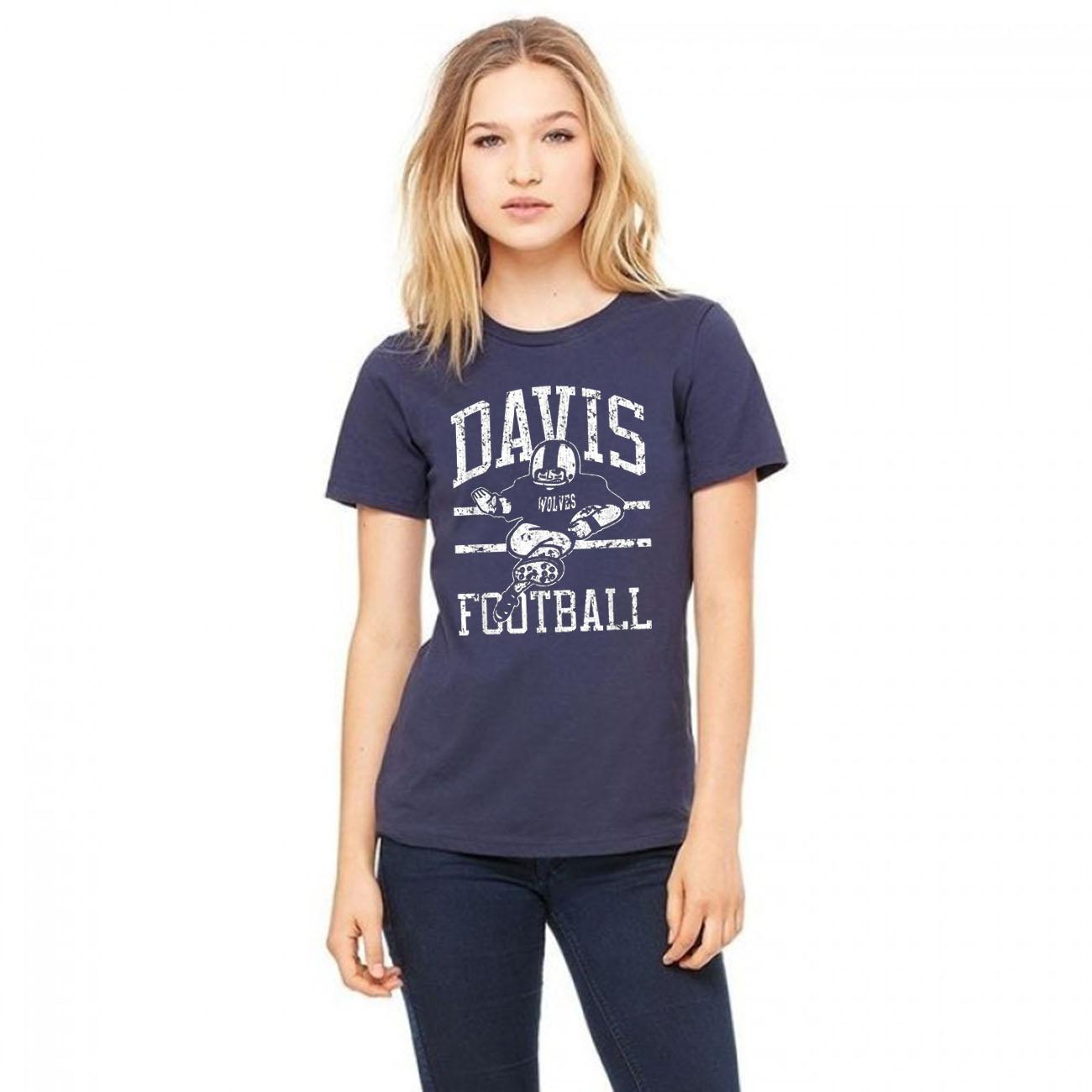 Davis Wolves FB Player Gift T-Shirts
